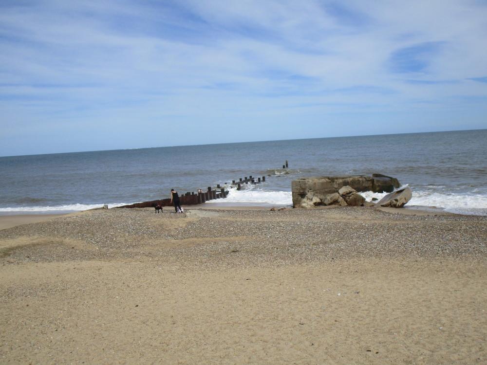 Gunton Denes dog-friendly beach, Suffolk - Dog walks in Suffolk