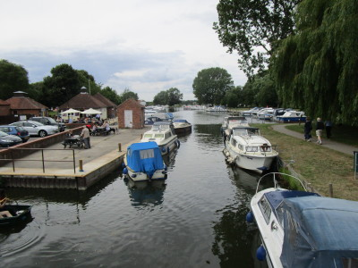 Beccles dog-friendly cafe and dog walk, Suffolk - Driving with Dogs