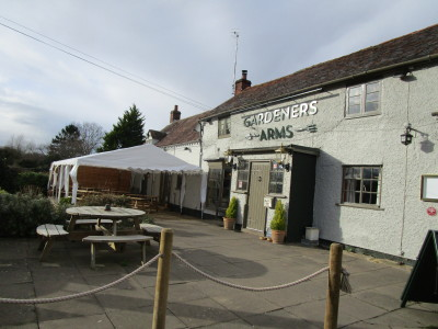 A44 near Evesham dog-friendly pub and dog walk, Worcestershire - Driving with Dogs