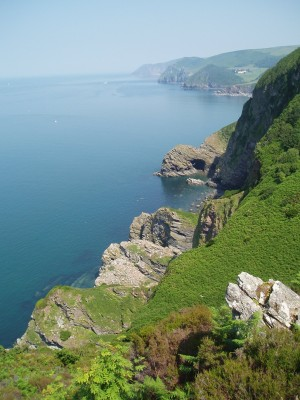 Dog-friendly Woody Bay, Devon - Driving with Dogs