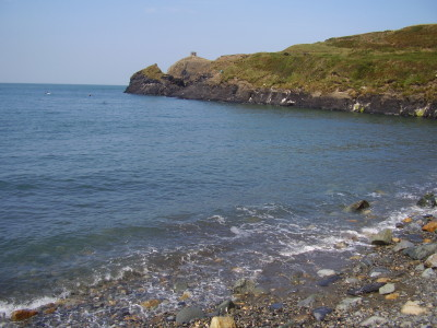 Abereiddy dog friendly beach, Pembrokeshire, Wales - Driving with Dogs
