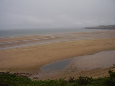 Moelfre area dog-friendly beach, Anglesey, Wales - Driving with Dogs