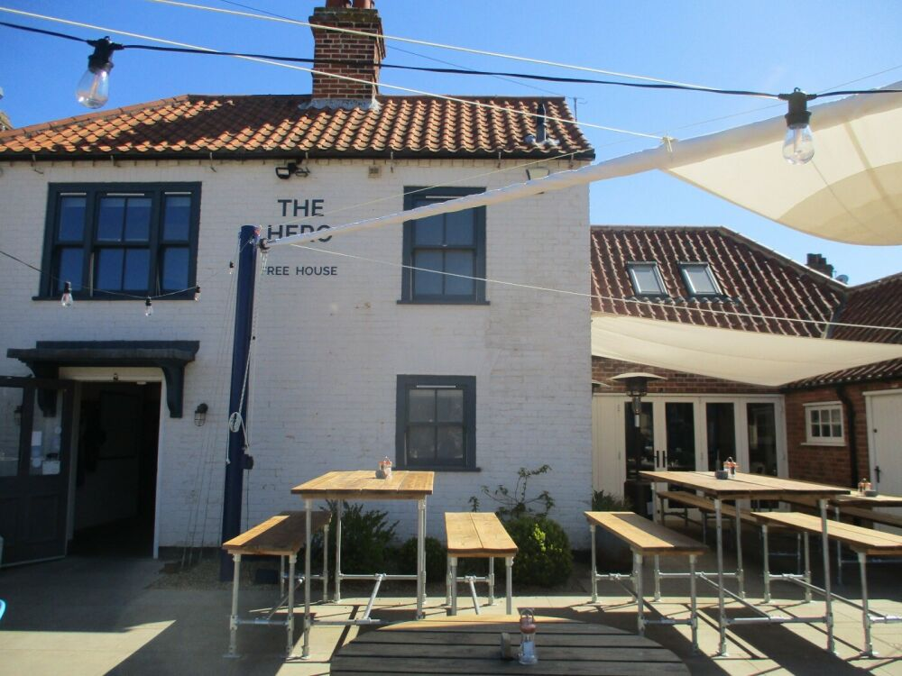 A149 bracing walk by the marshes and a dog-friendly pub, Norfolk - Norfolk dog-friendly pubs with B&B rooms.JPG