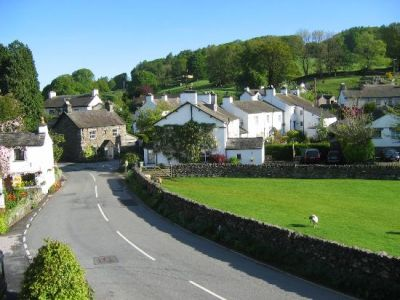 Lake District dog walk with no sheep, and dog-friendly B&B, Cumbria - Driving with Dogs
