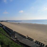 Pakefield dog-friendly beach, Lowestoft, Suffolk - Suffolk dog-friendly beach