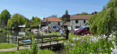 Waterside dog-friendly refreshments and moorings, Norfolk - Driving with Dogs