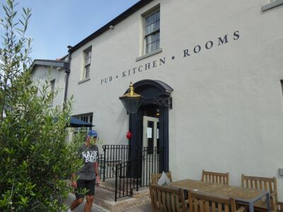 Dog-friendly bistro in a pretty riverside village, County Durham - Driving with Dogs
