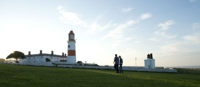 A183 Coast path dog walk near South Shields, Tyne and Wear - Driving with Dogs