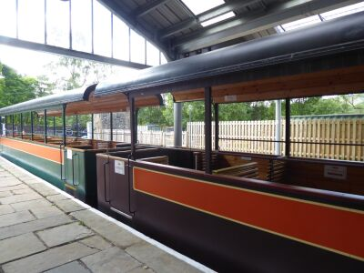 A689 Dog-friendly heritage train and riverside walkies, Cumbria - Driving with Dogs