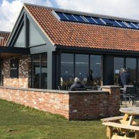 The Cow Shed Cafe and dog-friendly beach, East Yorkshire - Dog-friendly cafe near Bridlington