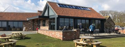 The Cow Shed Cafe and dog-friendly beach, East Yorkshire - Driving with Dogs