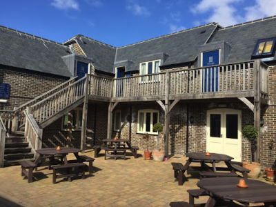 A352 doggiestop with walk and pub near Dorchester, Dorset - Driving with Dogs