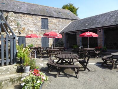 Village pub and shop near Rothbury, Northumberland - Driving with Dogs