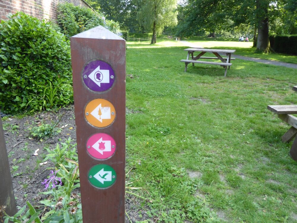 Relaxing garden walks and doggie swimming, Durham - Dog walks near Newcastle