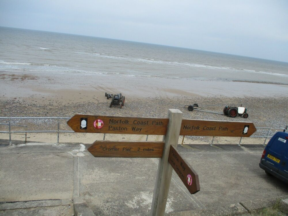 Overstrand dog-friendly cafe and beach, Norfolk - Norfolk dog-friendly beaches.JPG