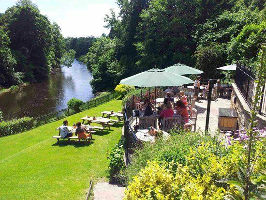 River Dee dog-friendly pub and dog walk, Wales - Dog-friendly dining Erbistock.jpg
