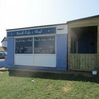 Old Hunstanton dog-friendly beach, Norfolk - Norfolk dog-friendly beaches with a cafe.JPG