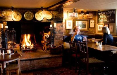 Dog-friendly dining pub near Reading, Oxfordshire - Driving with Dogs