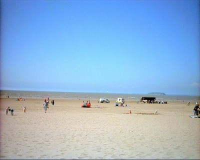 Brean and Berrow sands, dog-friendly beach, Somerset - Driving with Dogs