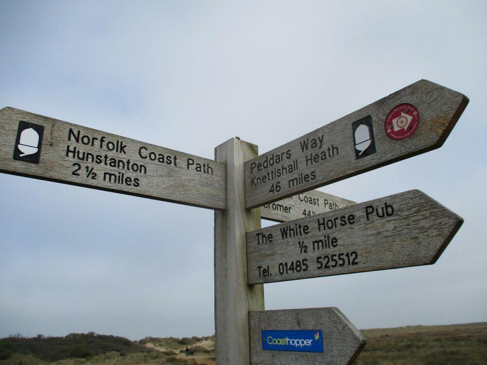 A149 dog walk, beach and dog-friendly pub, Norfolk - Norfolk dog walks and beaches.JPG