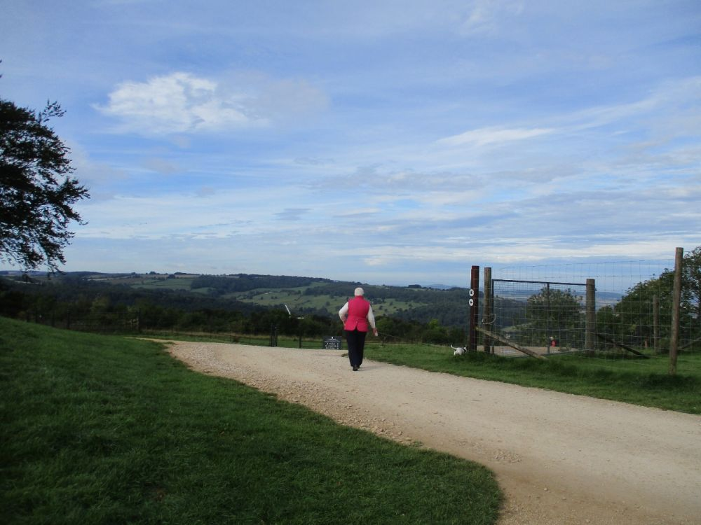 Dog-friendly cafe with dog walk and outstanding views, Gloucestershire - IMG_3471.JPG