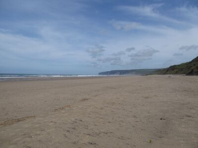 Hunmanby Gap dog-friendly beach, Yorkshire - Driving with Dogs