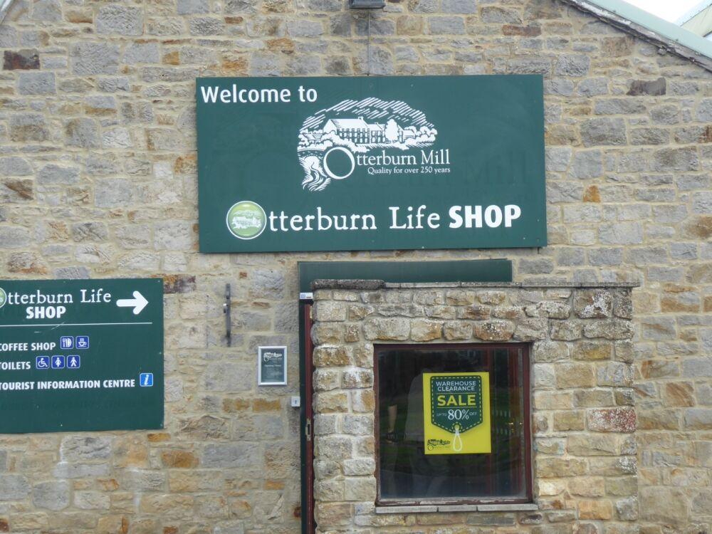 Otterburn Mills cafe and dog-friendly shop, Northumberland - Northumberland dog walking places.jpg