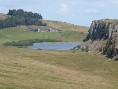 A69 A walk with the dog on Hadrians Wall, Northumberland - Driving with Dogs