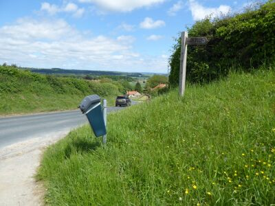 A dog walk on the Wolds Way, North Yorkshire - Driving with Dogs
