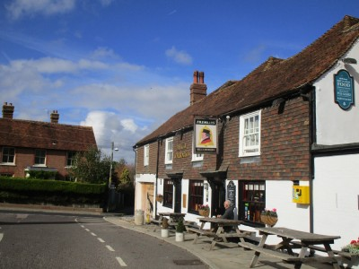 Staplehurst area dog walk and dog-friendly pub, Kent - Driving with Dogs