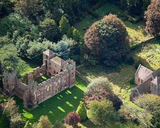 Dog-friendly castle ruins in rural Shropshire, Shropshire - acton-burnell-castle-dogs allowed.jpg
