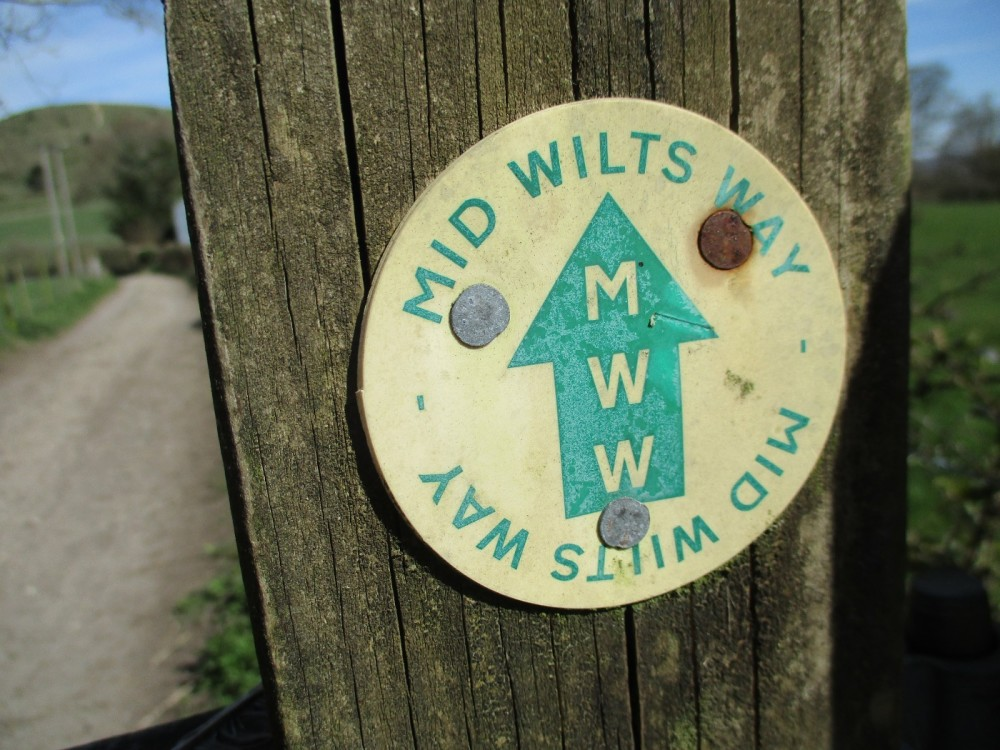 Ancient fort and dog walk near Warminster, Wiltshire - Wiltshire dog walking places.JPG