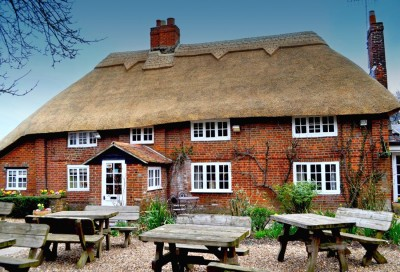 Village pub and brewery off the A27, West Sussex - Driving with Dogs