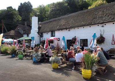 A39 dog-friendly pub with B&B and walks on the edge of Exmoor, Somerset - Driving with Dogs