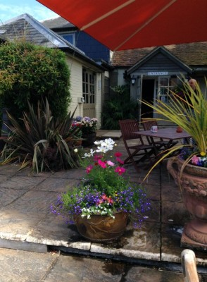 Doggiestop with dog walk and pub near Romsey, Hampshire - Driving with Dogs