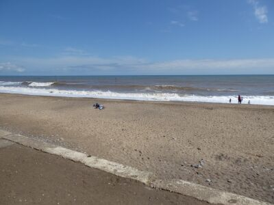 Hornsea South Beach - dog-friendly all year, East Yorkshire - Driving with Dogs