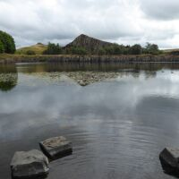A69 Roman Fort or a doggie beach and swimming spot, Northumberland - Northumberland dog walking places.jpg