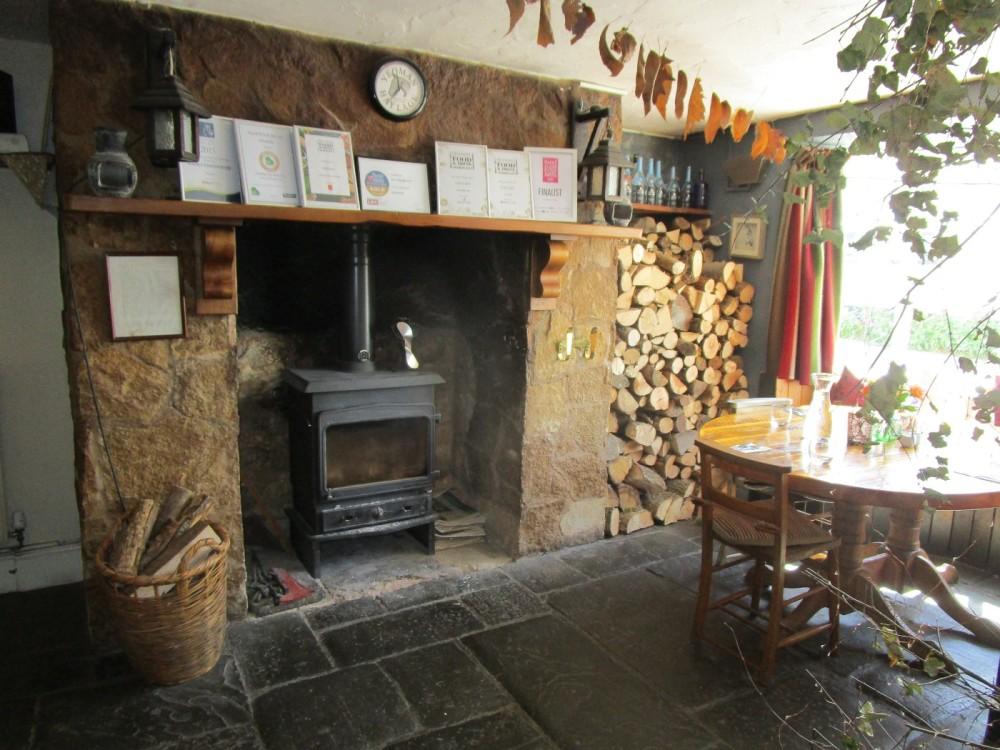 A396 Dog-friendly pub and walk above the Dart valley, Devon - Devon dog walk and dog-friendly pub.JPG