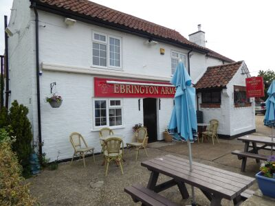 A153 Country pub and dog walk near Woodhall Spa, Lincolnshire - Driving with Dogs