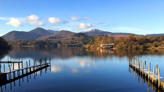 Popular Lake District waterside dog walk with dog beaches, cafe and boat rides, Cumbria - Dog walk and swimming in the Lake District.jpg